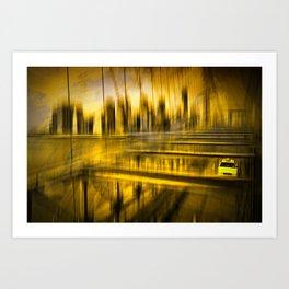 City-Shapes NYC Art Print