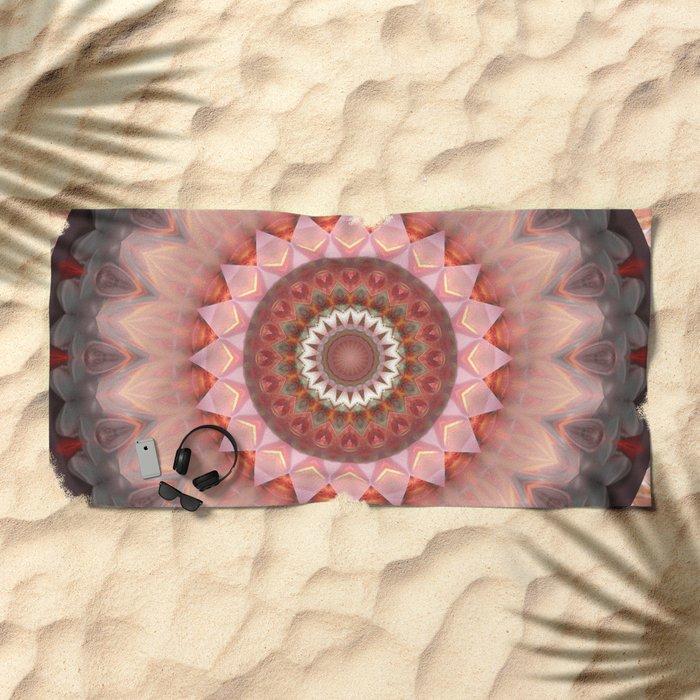 Mandala Teenage Girl Beach Towel