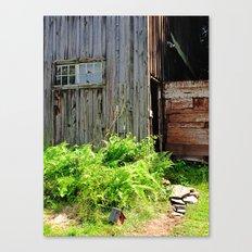 Barn, Upstate NY Canvas Print