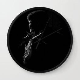 Soulful Silhouette Wall Clock