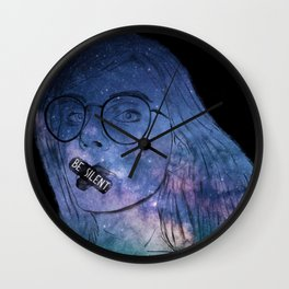 Anxiety Series: Be Silent in Your Suffering. Wall Clock