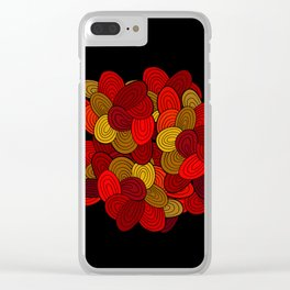 """Color Skein"" Clear iPhone Case"