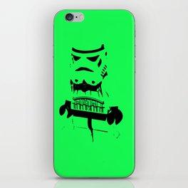 Pop Art Trooper iPhone Skin