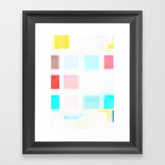 Wash Framed Art Print