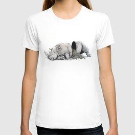 Rhino Slumber T-shirt