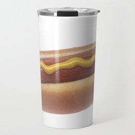 Hot Dog with Mustard Travel Mug