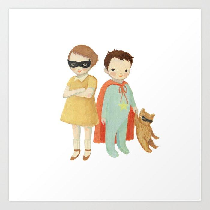 Superhero Kids by Emily Winfield Martin Kunstdrucke