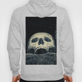 Old Human Skull In A Pagan Temple Hoody