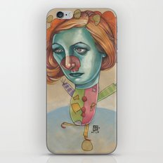 JUGGLING CLOWN iPhone & iPod Skin