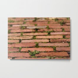 Brick by brick Metal Print