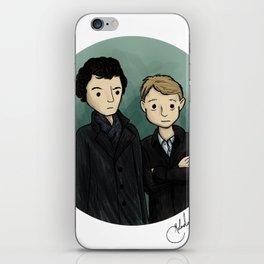 Sherlock & Watson iPhone Skin