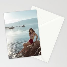 Morning Swim Stationery Cards