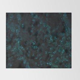 Stone Turquoise pattern Throw Blanket