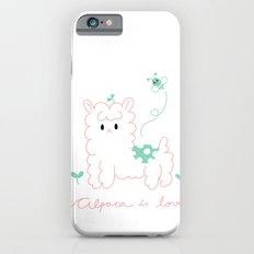 Alpaca is love iPhone 6s Slim Case