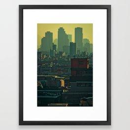 Eastern Seoul (II) Framed Art Print