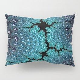 Lightening Crashes Fractal Art Pillow Sham
