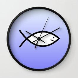Ichthys 3 Wall Clock
