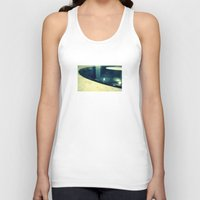 record Tank Tops featuring Record by Derek Fleener