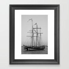Tall Ships - Greenwich Framed Art Print