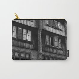 Windows in an Old Bar Carry-All Pouch