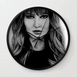 Jennifer Lawrence Wall Clock