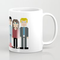 how i met your mother Mugs featuring How I Met Your Mother by Evelyn Gonzalez