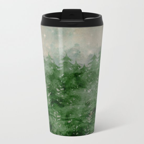 there's a place stars go to Metal Travel Mug