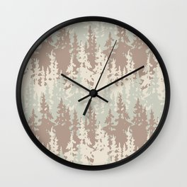Rusty woods Wall Clock