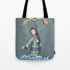 Sad blueness Tote Bag