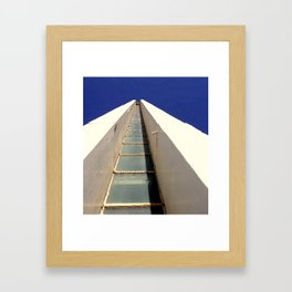 Cape Jervis Lighthouse Framed Art Print
