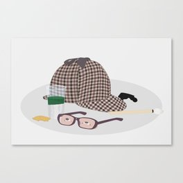 2015: Great Detective Canvas Print