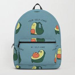 Self Care Avocado Backpack