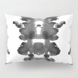 Black Ink Blots Pillow Sham