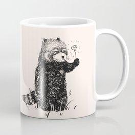 Sweet Red Panda with Flower Coffee Mug