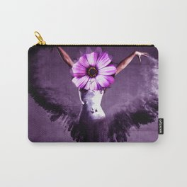 Flower, girl & heart Carry-All Pouch