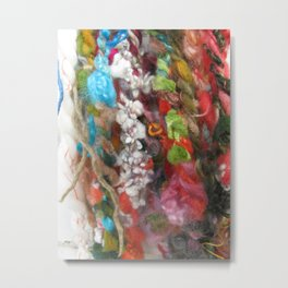 Kitchen Sink Yarn Metal Print