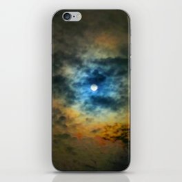 Rainbow Sun iPhone Skin