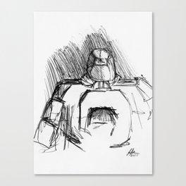Warbot Sketch #045 Canvas Print
