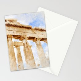 Acropolis Of Athens Stationery Cards