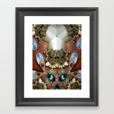 Double Think Framed Art Print