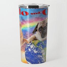 Milo And Otis Take On The World Travel Mug