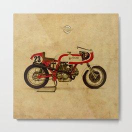 motorcycle 750SS Corsa 1974 Metal Print