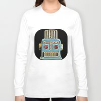 robot Long Sleeve T-shirts featuring Robot by Silvio Ledbetter