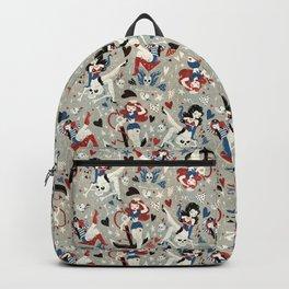 Rockabilly girls Backpack