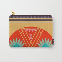 Multi Geometric Love Carry-All Pouch