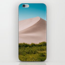 Sky, Sand & Green iPhone Skin