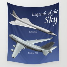 Legends of the Sky Wall Tapestry
