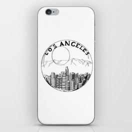 Los Angeles in a glass ball 2  ( https://society6.com/vickonskey/collection ) iPhone Skin