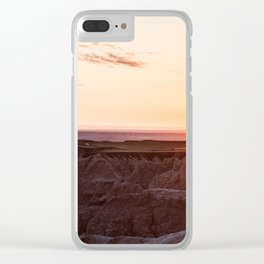 Goodnight, Badlands Clear iPhone Case