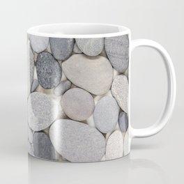 Smooth Grey Pebble Minimalistic Zen  Coffee Mug